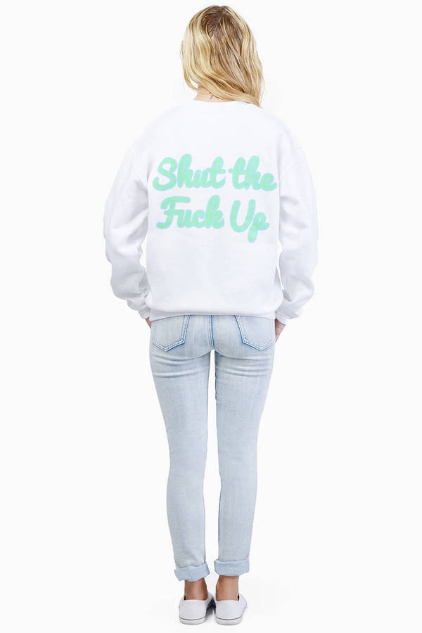 United Couture STFU Mookee Boy Heavy Sweatshirt