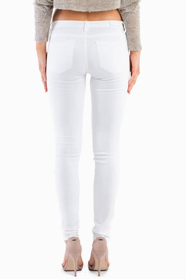 Blank White Lines Skinny Jeans