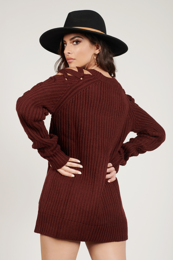 4c10019ead Purple Sweater - Crew Neck Jumper - Party Sweater - Purple Ribbed ...