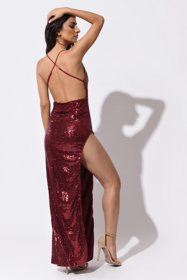 82ce766f4f0 Black Maxi Dress - Maxi Sequin Dress - Black Bling Dress - £43