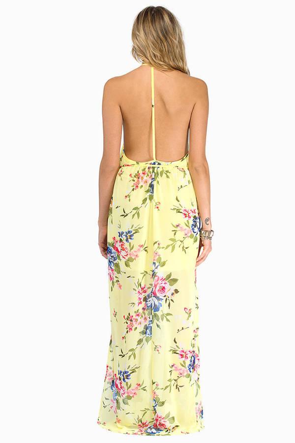 Floral Crush Maxi Dress