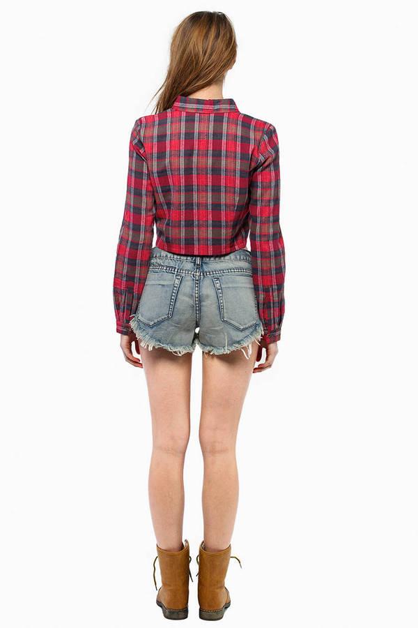 Beverly Denim Shorts
