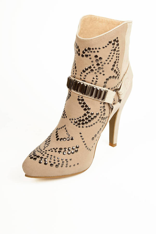 Shania Studded Bootie