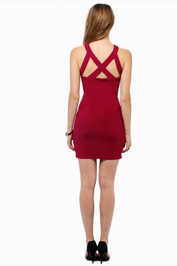 Captive Bodycon Dress