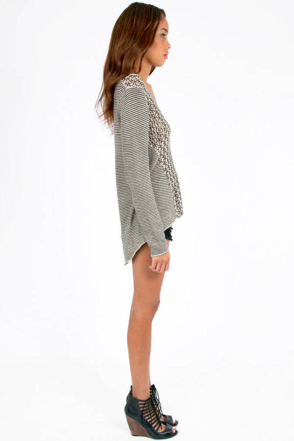 Pleasant Pattern Sweater