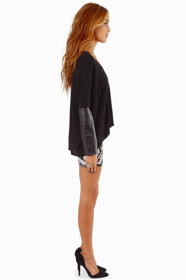 Contrary Sleeves Sweater