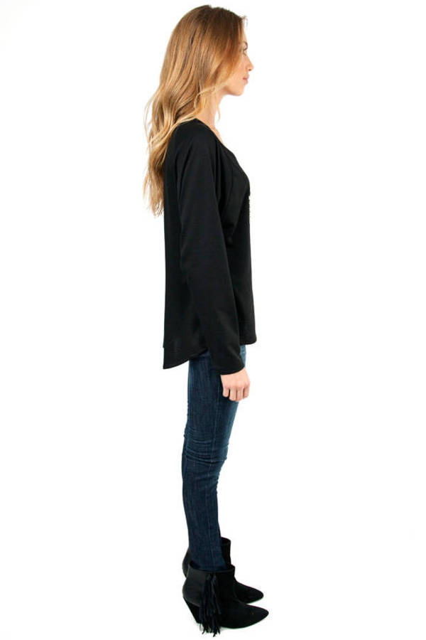 Cyber Love Raglan Terry Top