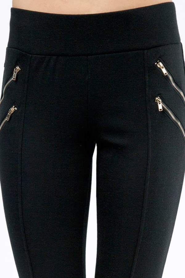 Double Trouble Zippered Leggings