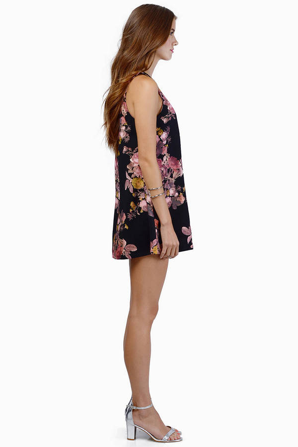 Falling For Floral Dress