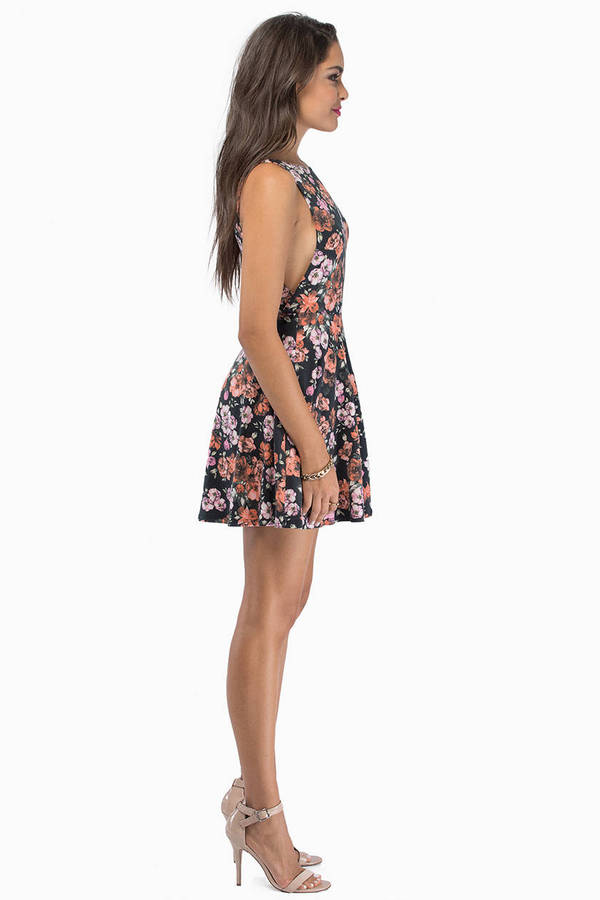 Nobody's Business Floral Dress