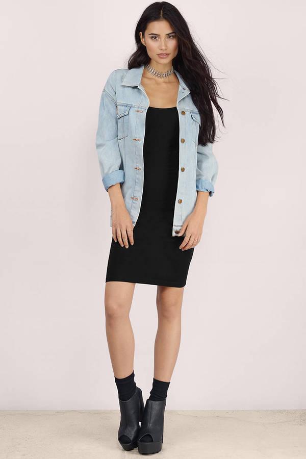 3a4b815f7876 Sexy Black Bodycon Dress - Low Back Dress - Bodycon Dress - € 16 ...