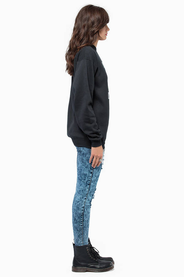 Petals & Peacocks Get Lifted Sweatshirt
