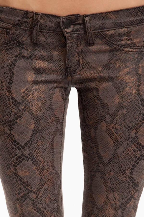 Sneaky Snake Skinny Jeans