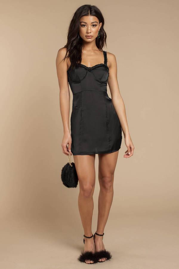 For Love And Lemons Jackpot Black Mini Dress 182 Tobi Us