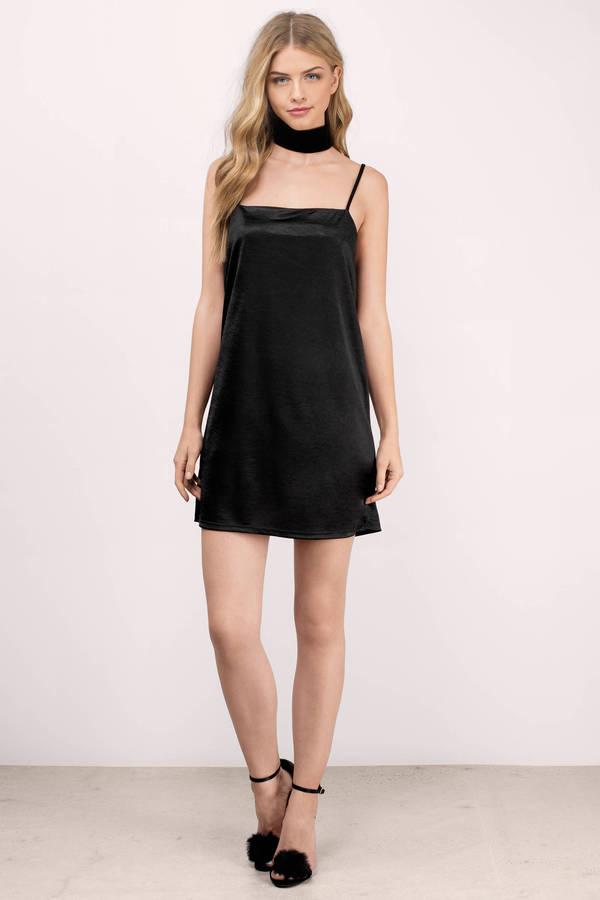 0d65fc6a17 Black Shift Dress - Black Dress - Cami Dress - Black Shift - € 18 ...