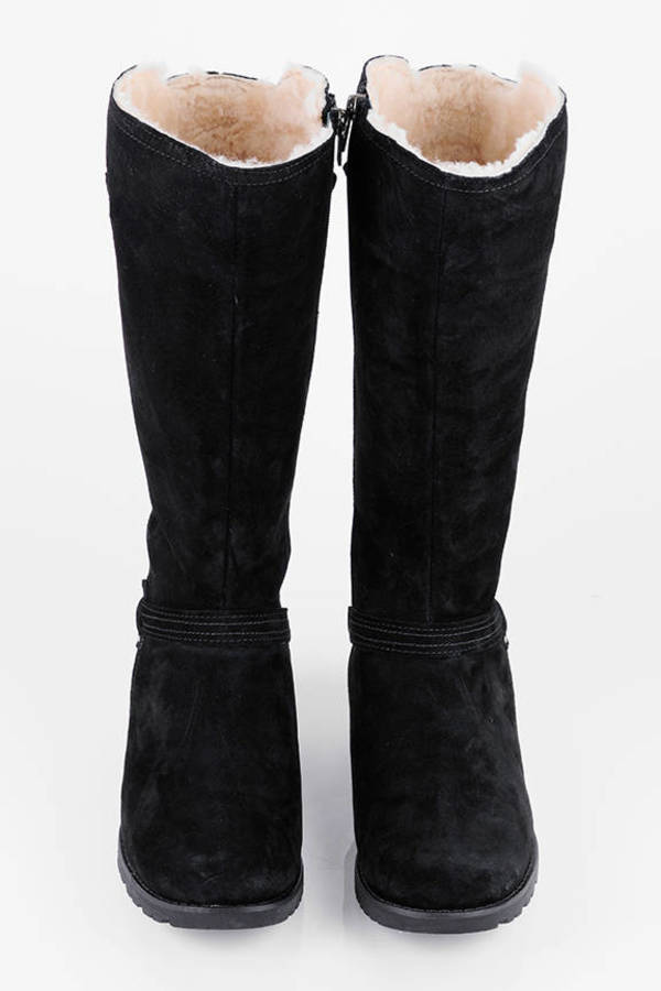 UGG Boots - Equestrian Suede Boots
