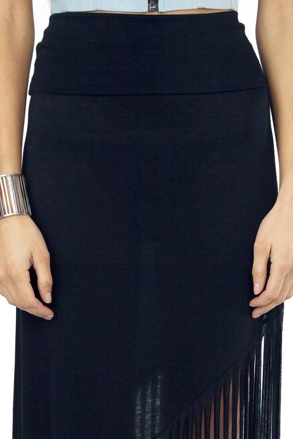Kari Fringe Skirt