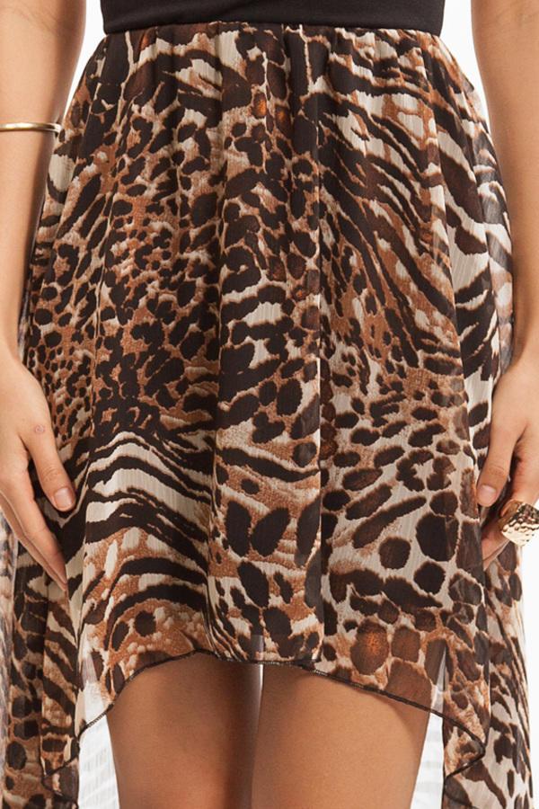 V-Line Feline Dress