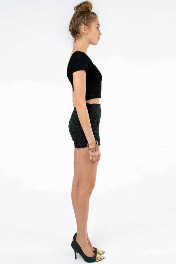 Lolita Lace Overlay Shorts