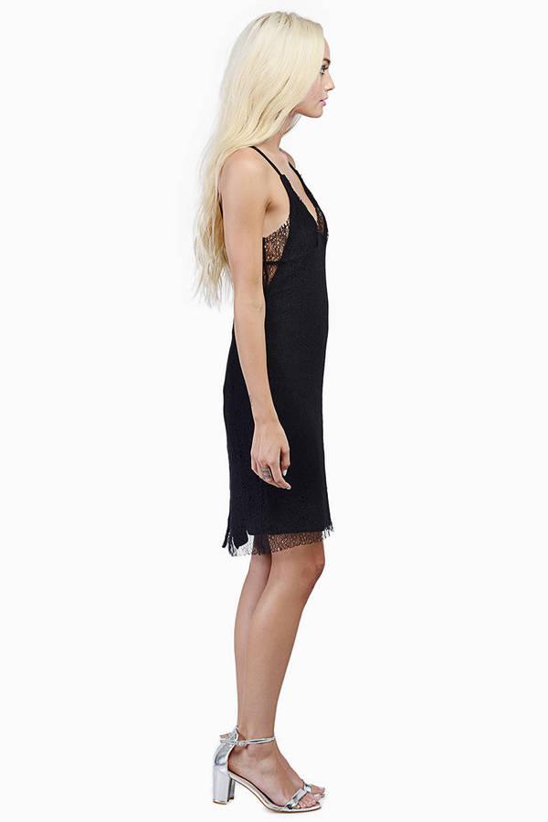 Marvel Lace Slip Dress