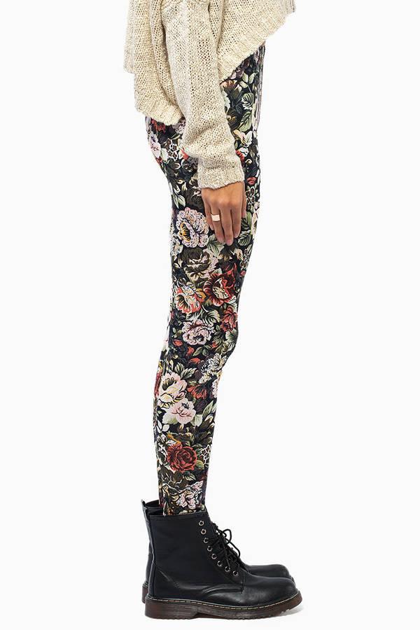 Floral Frenzy Leggings
