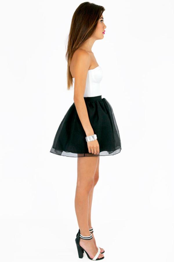 Olivia Organza Skirt