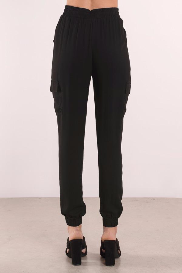 Cute Black Pants - Black Pants - Woven Pants - $56.00
