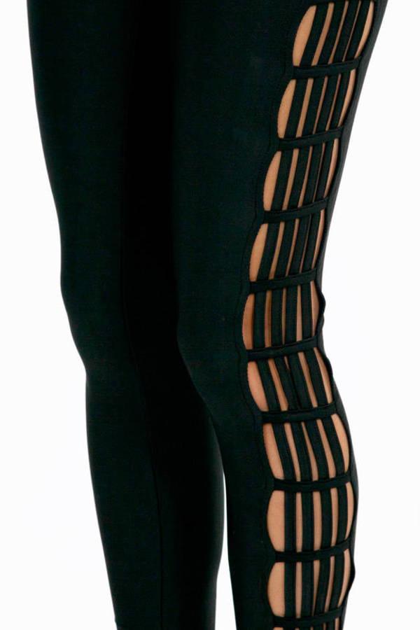 Rung Side Leggings