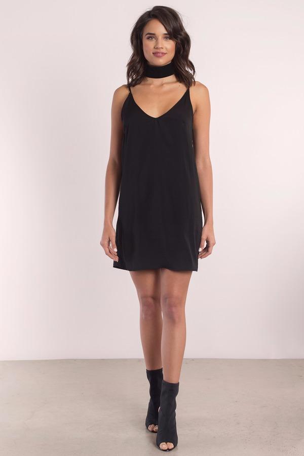 7b7fe7766c8 Cute Black Shift Dress - Sleeveless Dress - Shift Dress -  20