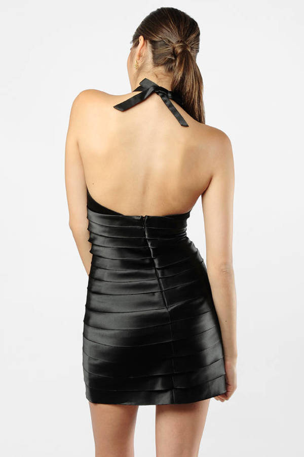 Black Bcbgmaxazria Dress Sports Banquet Dress Black Halter Dress