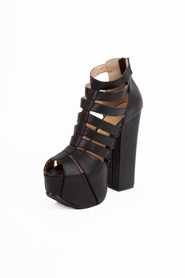 Luichiny Thrilll Me Platform Heels