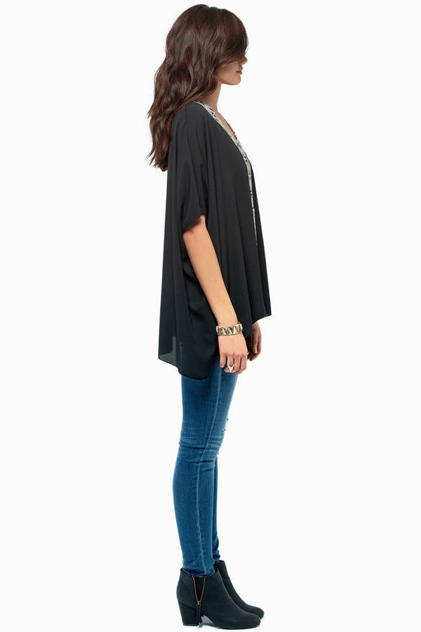 Tryst V Neck Top