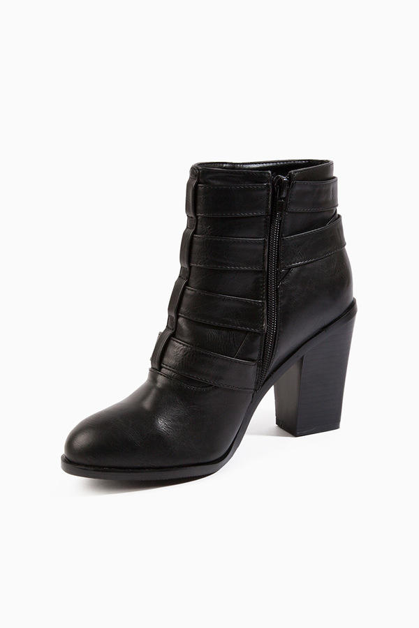 Wicked Buckled Bootie