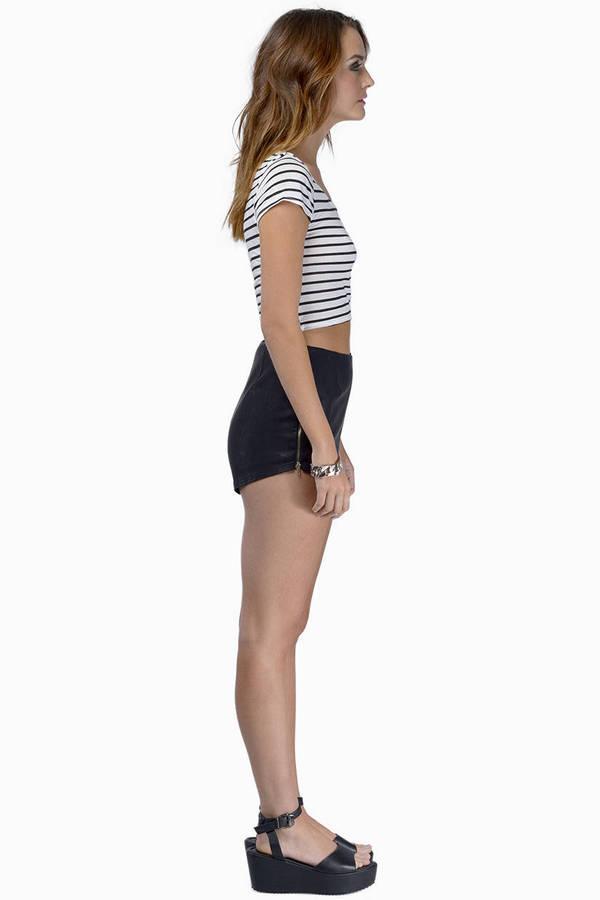 Zip It Shorts
