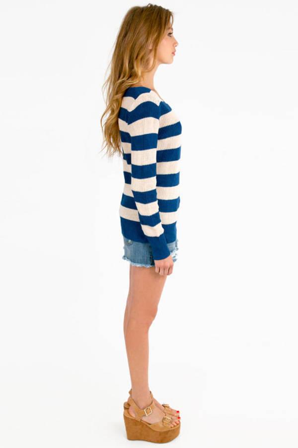 Nautical Striped Sweater