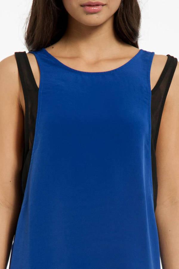 Sew Meshy Dress