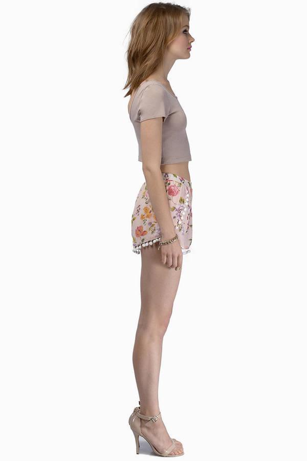 Floral Promenade Shorts