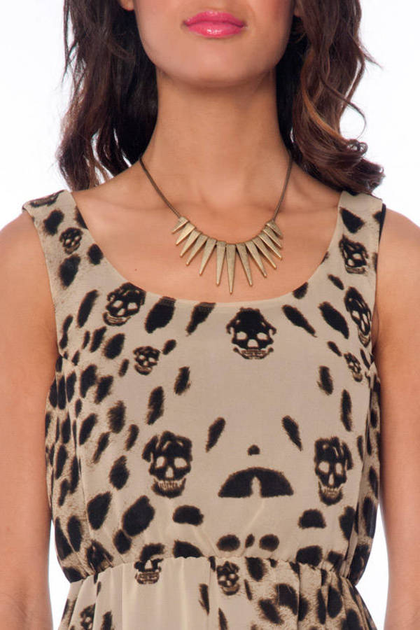 Cats and Skulls Dress