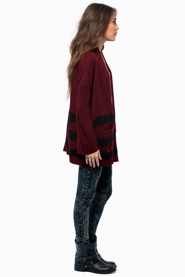Willow Striped Cardigan