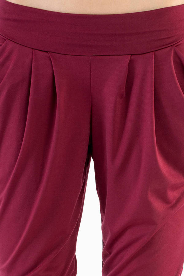 Fleeting Harem Pants