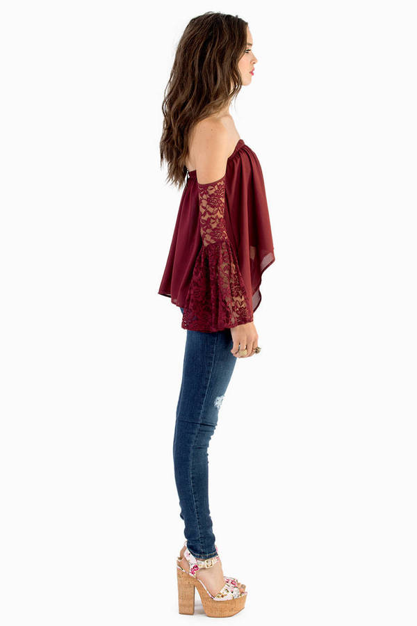Looking for Lace Top