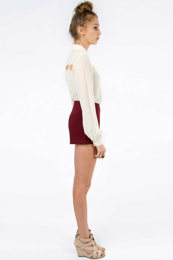 No Haste High Waist Shorts