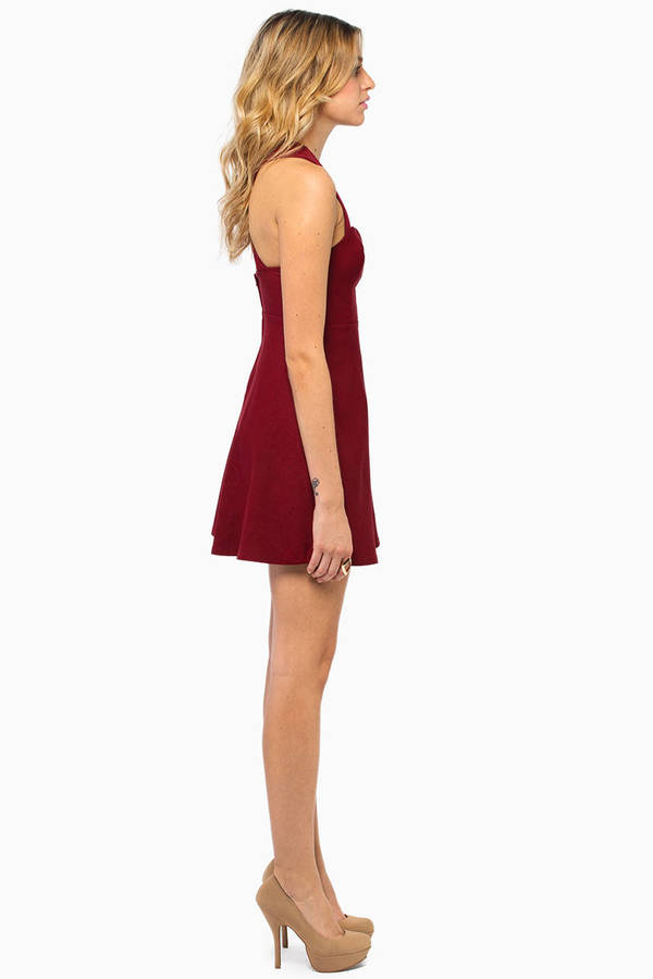Taste Of Honey Skater Dress
