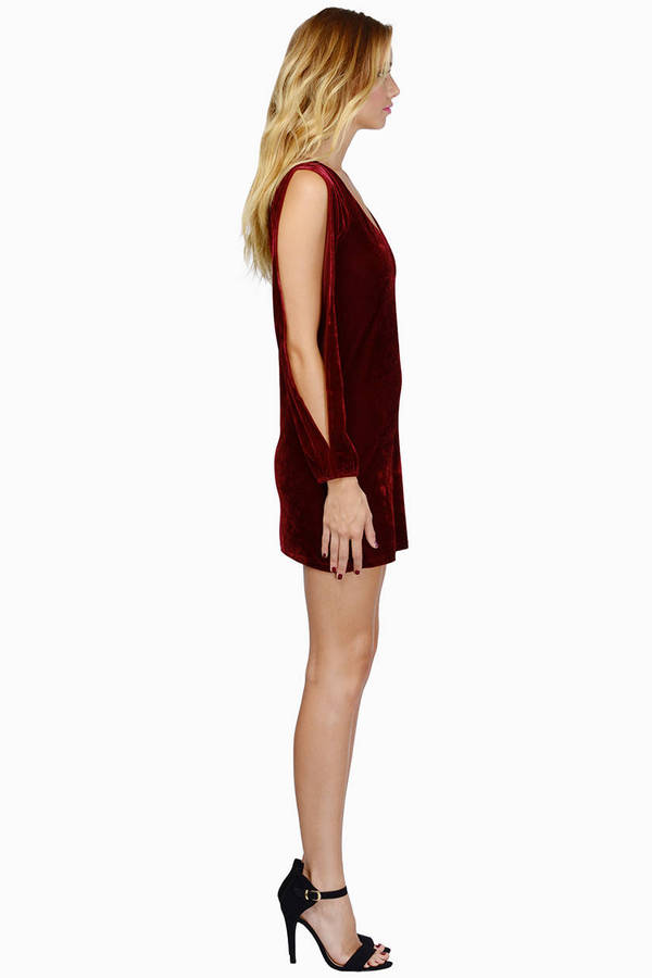Wicked Ways Velour Dress