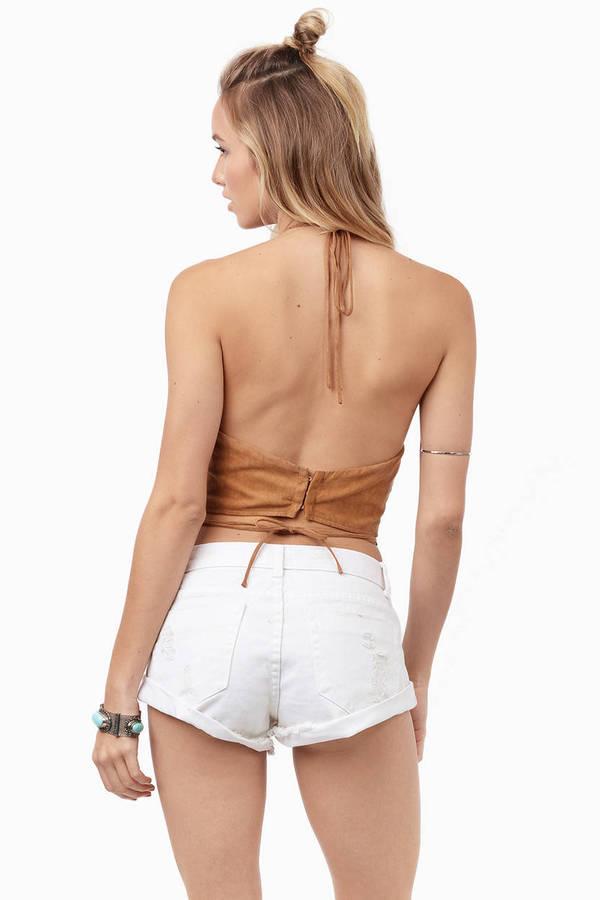 Western Denim Shorts