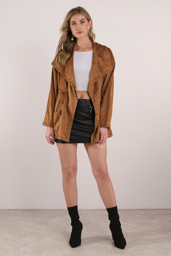 draped for coats outerwear daisy suede women clothing bevello jacket jackets womens jane drapes