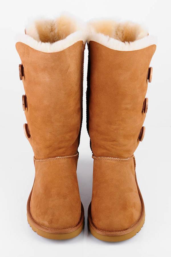 d8e5c93b576 Bailey Button Triplet Tall Sheepskin Boots