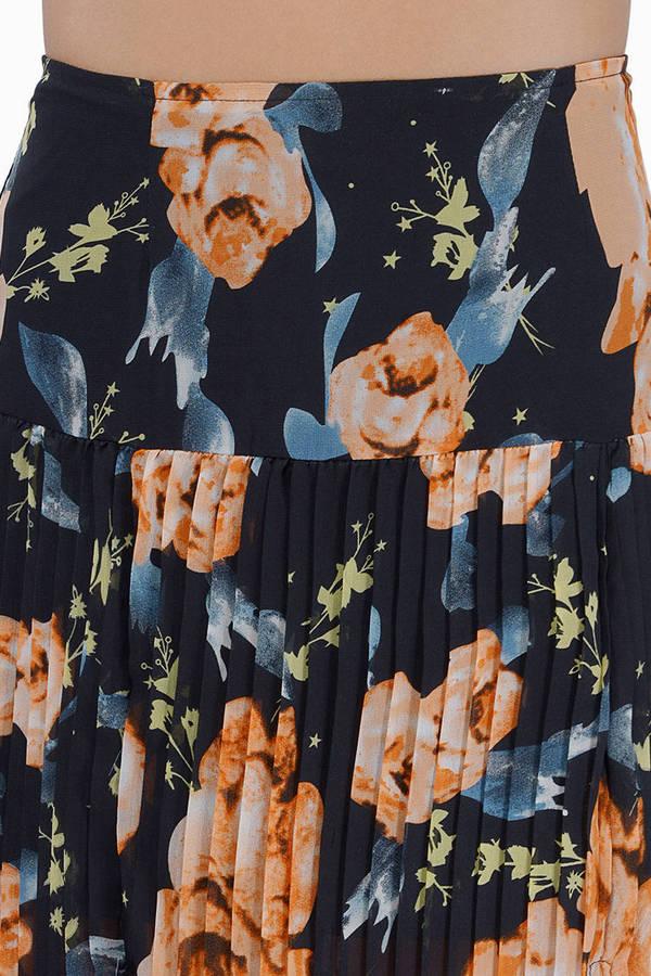 Sunburst Maxi Skirt