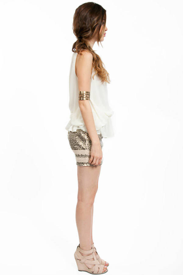 Ch-Ch-Chained Blouse