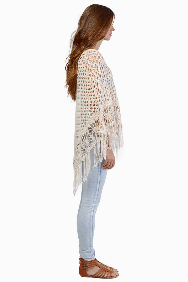 Cozy Days Knitted Poncho